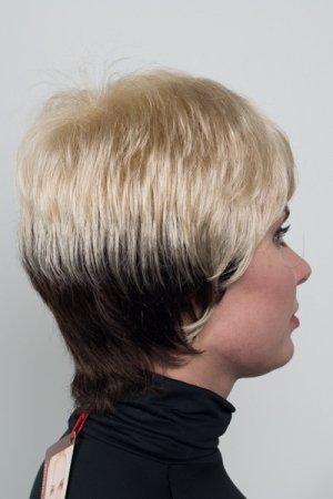 Простой недорогой парик с челкой T.M.S. New Vision