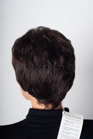 Короткий черный парик T.M.S. New Vision
