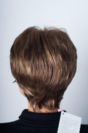 Прямой короткий парик, челка T.M.S. New Vision