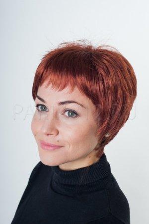 Парик из рыжих волос T.M.S. New Vision