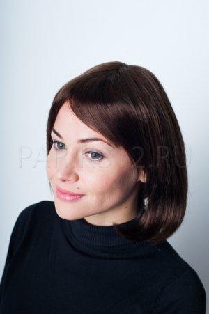 Красивый парик из натуральных волос T.M.S. New Vision