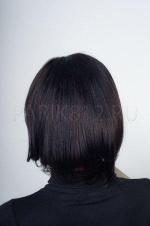 Парик каре с челкой, натуральный волос T.M.S. New Vision