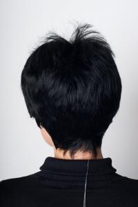 Черный парик T.M.S. New Vision