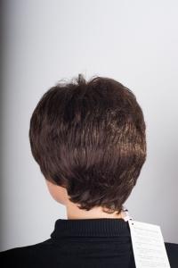 Красивый искусственный парик с челкой T.M.S. New Vision