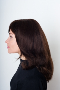 Длинный натуральный парик с челкой Elegant Hair Collection