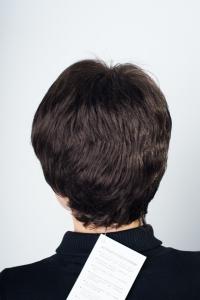 Простой черный парик T.M.S. New Vision