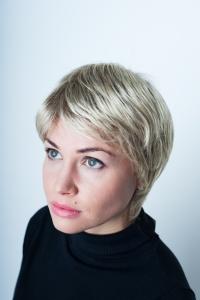 Короткий парик блондинка  GM-1777